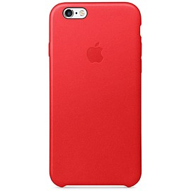 Apple - iPhone 6/6s Leather Case (PRODUCT)RED