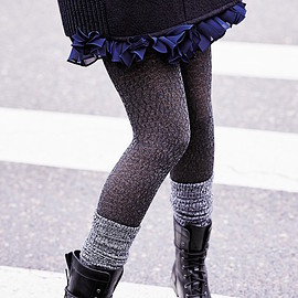 DKNY - DKNY Open Knit Tights