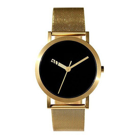 normal TIMEPIECES - normal TIMEPIECES EXTRA NORMAL GRANDE Gold/Black 腕時計 ユニセックス