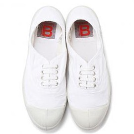 BENSIMON - Tennis Lacets White