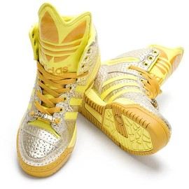 adidas - Gold/silver Metallic Metro Highs