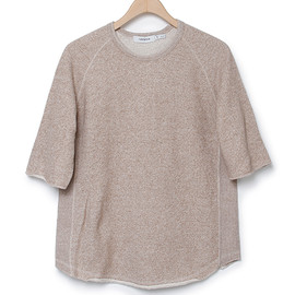 nonnative - ROAMER TEE QS - COTTON MARBLE SWEAT