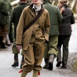 Barbour - Tweed breeks and shooting jacket