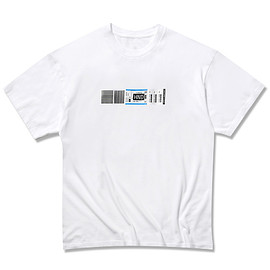 uniform experiment - HND AIRLINE TAG TEE (FRGMT DESIGN)