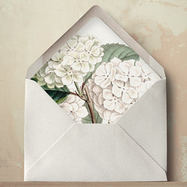 oakandorchid - Hydrangea Envelope Liners DIY Printable Wedding Invitations