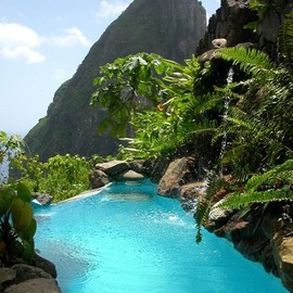 Saint Lucia, West Indies - 'Ladera Resort'