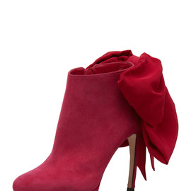 Alexander McQueen - Bow-Back Ankle Boot