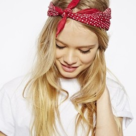 asos - Polka Dot Headscarf Neckerchief