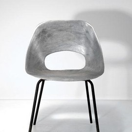 Pierre Guariche 'Tonneau' chair, designed in 1954 - Pierre Guariche 'Tonneau' chair, designed in 1954
