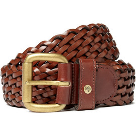 Mulberry - Mulberry Plaited Leather Belt