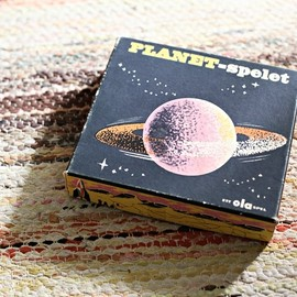 sweden - board game (i'm guessing) called.. Planet Game. Vintage game,