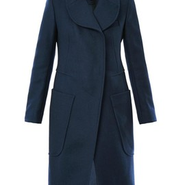 CARVEN - Caban square pocket coat