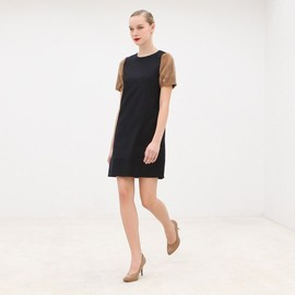 AR - AR AR6-1-6-001-1002 DRESS NVY/BRW