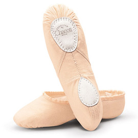 Chacott - split ballet shoes