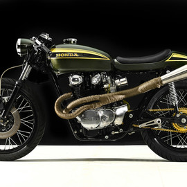 Hangar Cycleworks - Pony Boy 1973 HONDA CB450 K6 Cafe