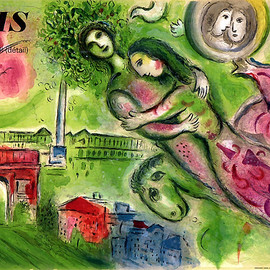 Marc Chagall - Romeo and Juliet
