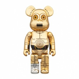 MEDICOM TOY - star-wars-medicom-toy-400-c3po-bearbrick