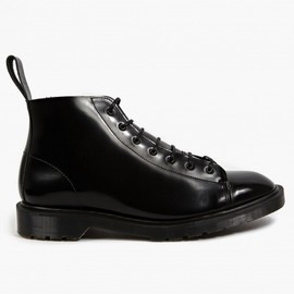 oki-ni, Dr.Martens - Exclusive Black Boanil Brush Leather Les Boots
