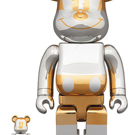 MEDICOM TOY - BE@RBRICK FUTURE MICKEY 100% & 400%