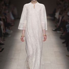 VALENTINO - 2014SS White Dress