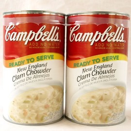 Campbell's - clam chowder(クラムチャウダー)