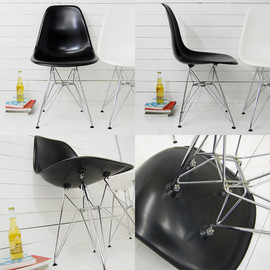EAMES - イームズサイドシェルチェアDSR -Charles & Ray Eames