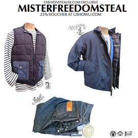 mister freedom - EXCLUSIVE USHOWU MISTER FREEDOM COLLECTION   EXCLUSIVE 25% VOUCHER AT USHOWU.COM