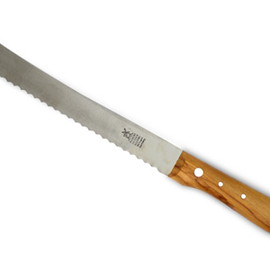 Robert Herder - Old German Knife bread knife (Olive)