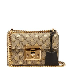 GUCCI - Padlock GG Supreme small cross-body bag