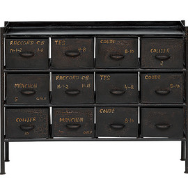 Journal Standard Furniture - GUIDEL 12DRAWER CHEST WIDE