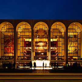 Lincoln Center - NYC - Metropolitan Opera