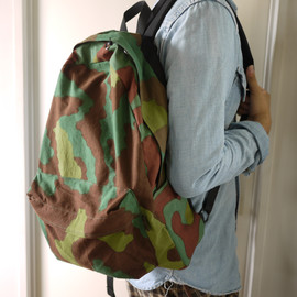 LOFTMAN別注 Day Pack-Black