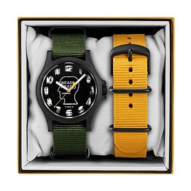 BRAIN DEAD - TIMEX 40mm Fabric Strap Watch