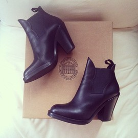 Acne - STAR Ankle BOOTS