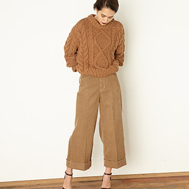 SLY - Corduroy HW WIDE Ankle PT-E