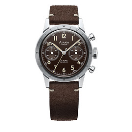 AIRAIN Watches - Type 20 Re-Edition - Brown