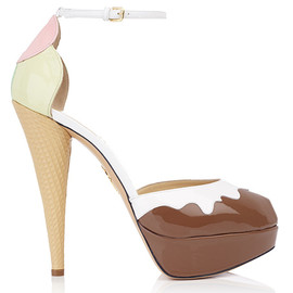Charlotte Olympia - ICECREAM chocolate