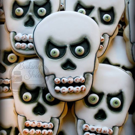 The Baking Sheet - Skull Cookies