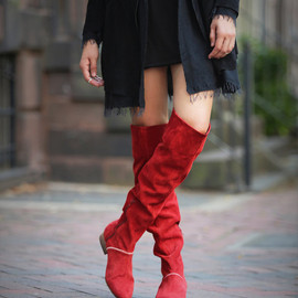 Free People - Free People Grandeur Over the Knee Boot