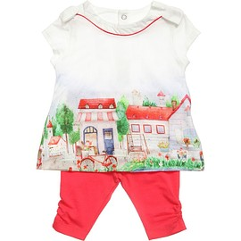 MAYORAL - Baby Girls Cotton Jersey Top & Leggings Set