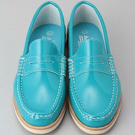 BEAMS - VIENTO AMERICANO / PATENT LOAFER-2-<EXCLUSIVE>