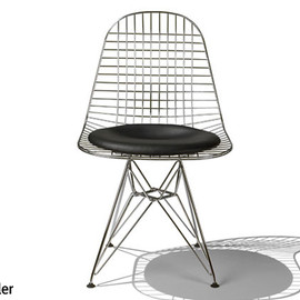 Herman Miller - Eames Wire Chair DKR-5/Leather