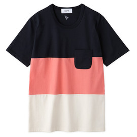 Aloye - Tricolore #4 / Short-sleeve Pocket T-Shirt