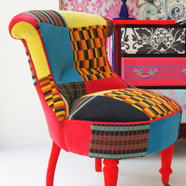 iconic moquette - Squint chair