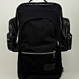 EASTPK, KRIS VAN ASSCHE - Backpack XXL in Black
