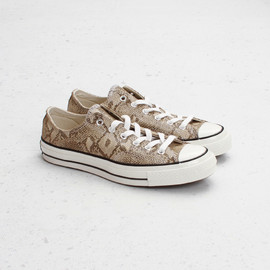 CONVERSE - First String Chuck Taylor 1970 OX (Snake) Low