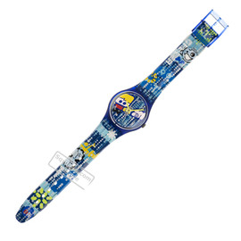 Swatch - London Club - Watch - GS106 | Squiggly Swatch Watches and Straps - designed by Designers Republic