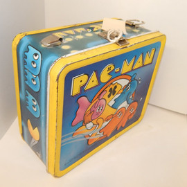 mid way - Pac Man Vintage Lunch Box!