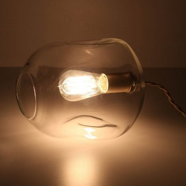 Anthropologie - Bubbled Table Lamp