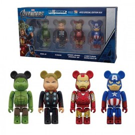 MEDICOM TOY - THE AVENGERS ASSEMBLE SET
